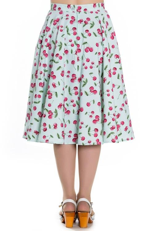 Hell Bunny April Mint 50's Skirt - Bohemian Finds