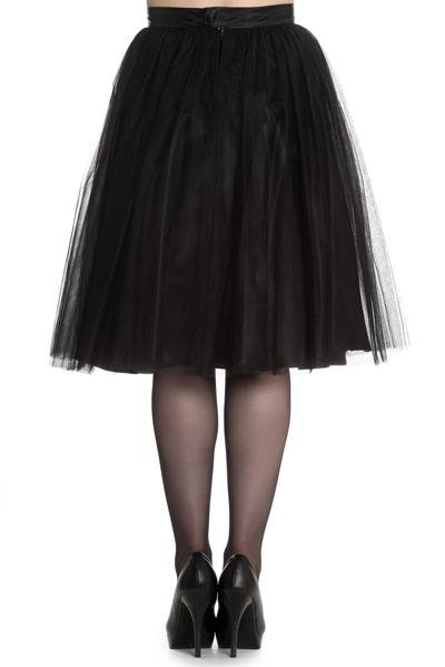 Hell Bunny Ballerina Skirt (Black) - Bohemian Finds