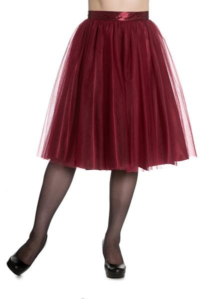Hell Bunny Ballerina Skirt (Red) - Bohemian Finds