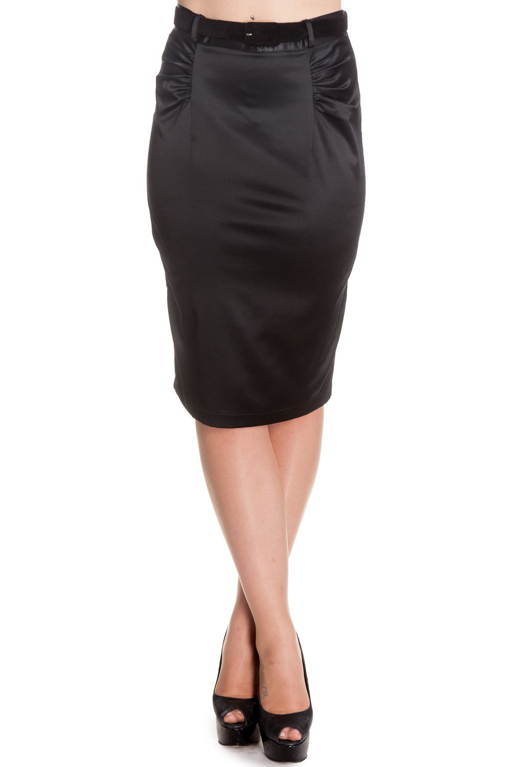Hell Bunny Bebe Rock Skirt (black) - Bohemian Finds