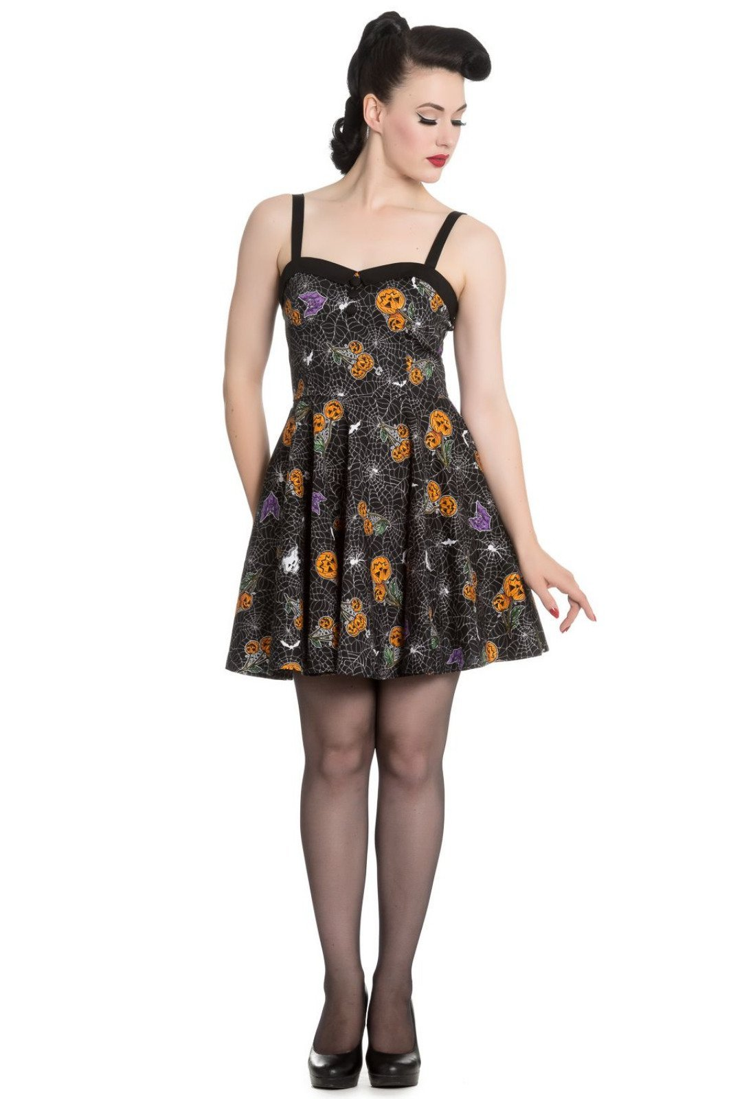 Hell Bunny Harlow Mini Dress - Bohemian Finds