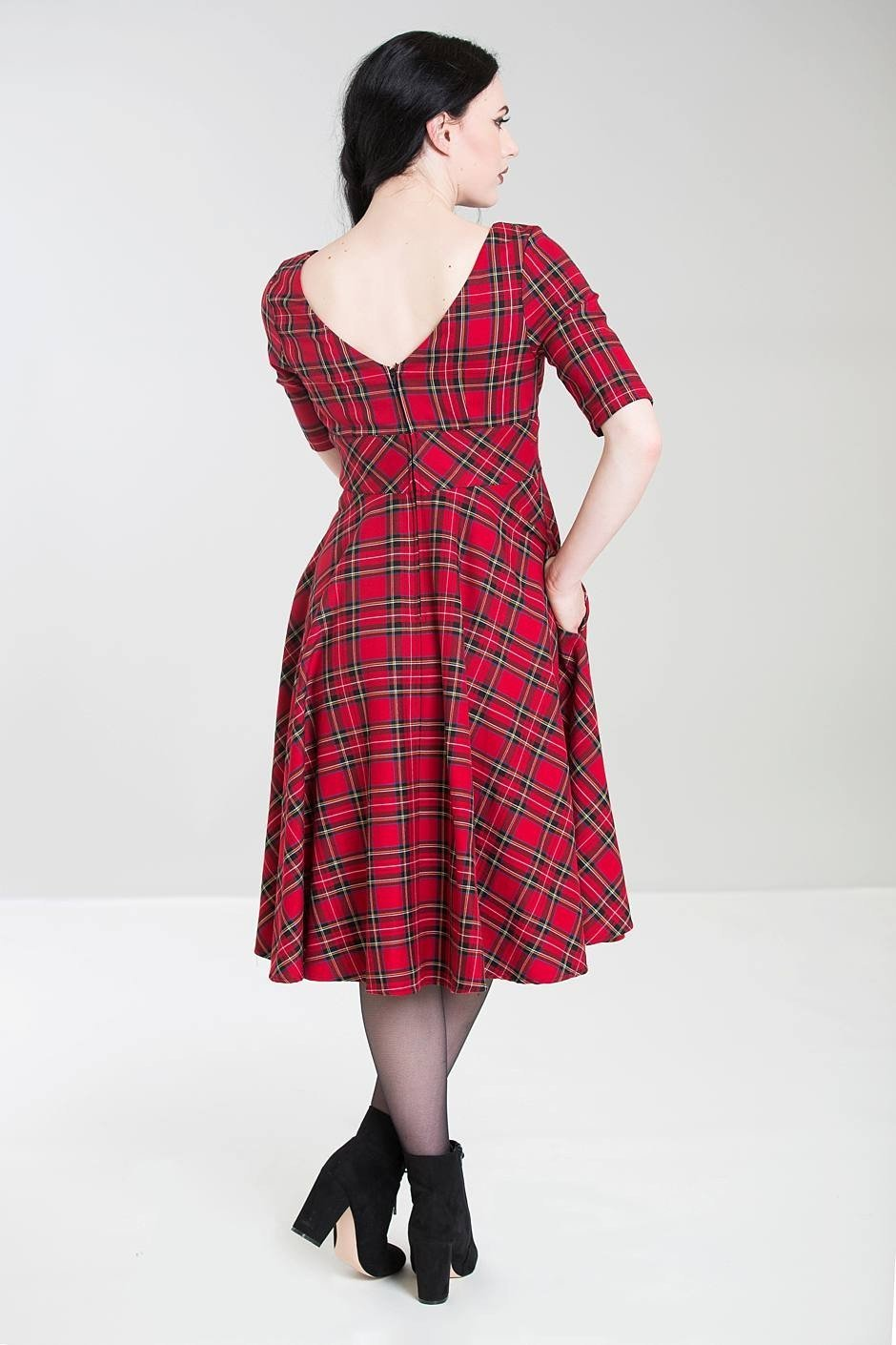 Hell Bunny Irvine 50's Dress - Bohemian Finds