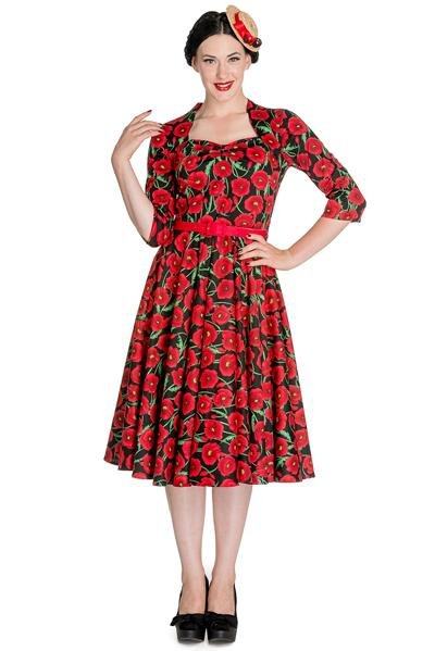Hell Bunny Poppy Dress - Bohemian Finds