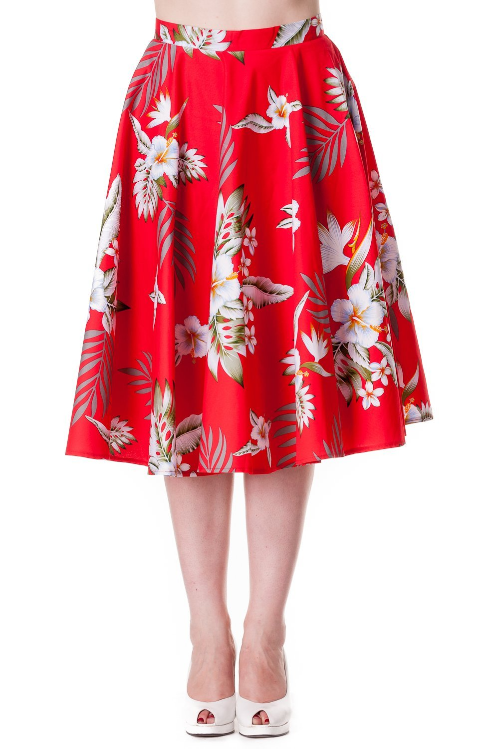 Hell Bunny Red Candy Skirt - Bohemian Finds