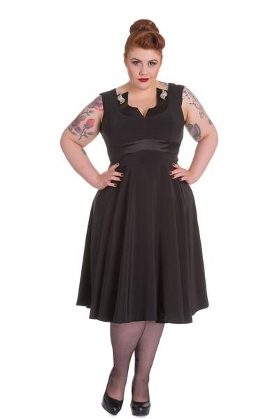 Hell Bunny Valetta Dress (Plus Size) - Bohemian Finds