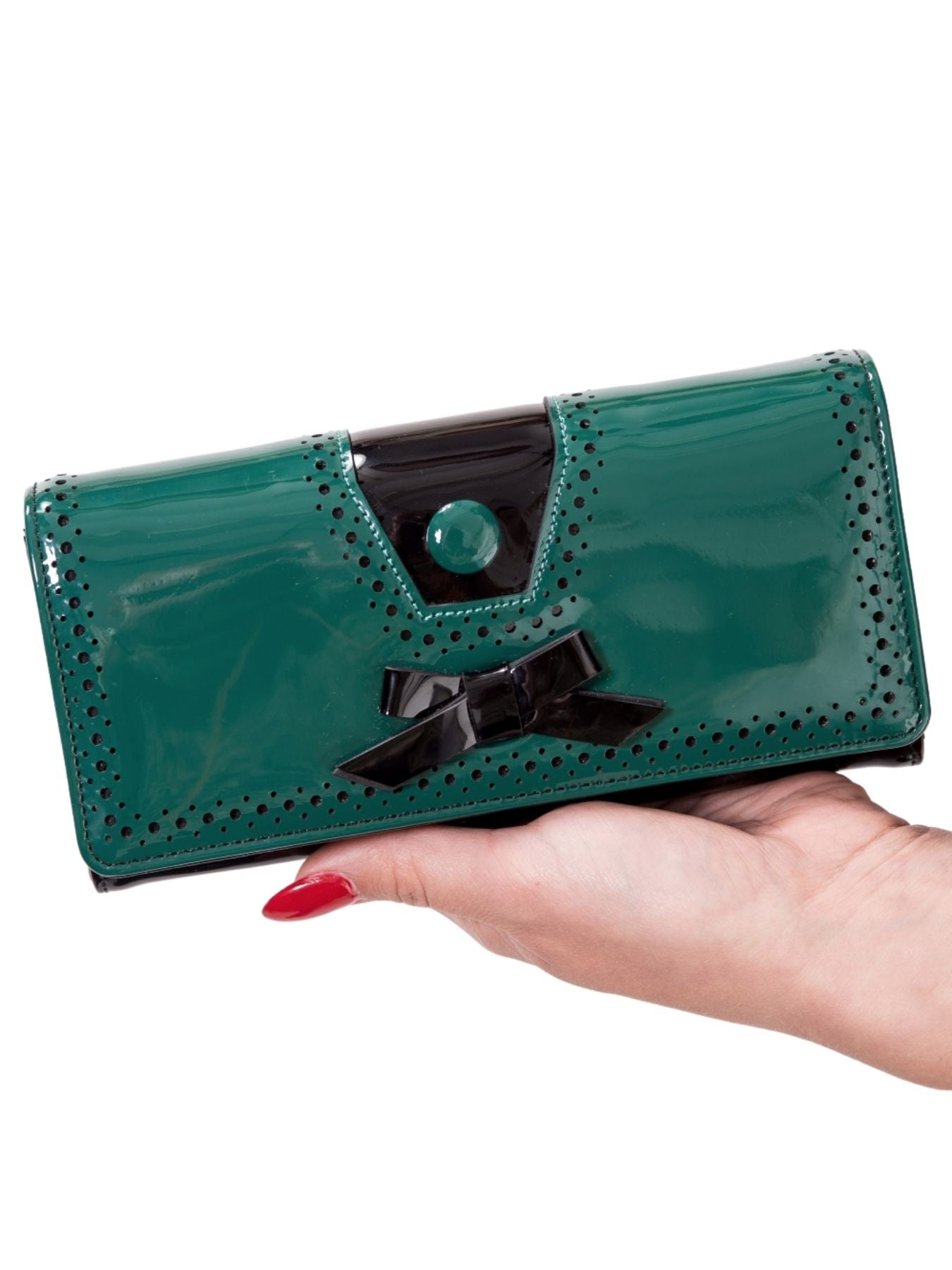 Banned Retro 50s Rosemary's Green Wallet - Bohemian Finds