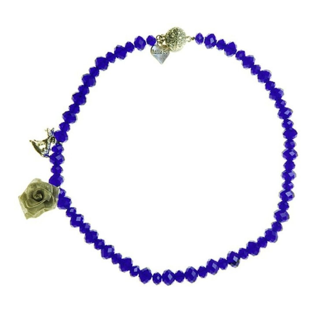 Rosie Fox Cobalt Blue Necklace - Bohemian Finds