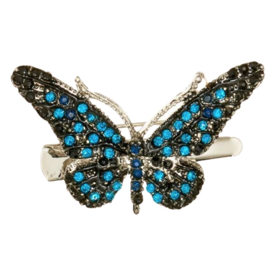 Rosie Fox Ocean Mini Butterfly Hairclip and Brooch - Bohemian Finds