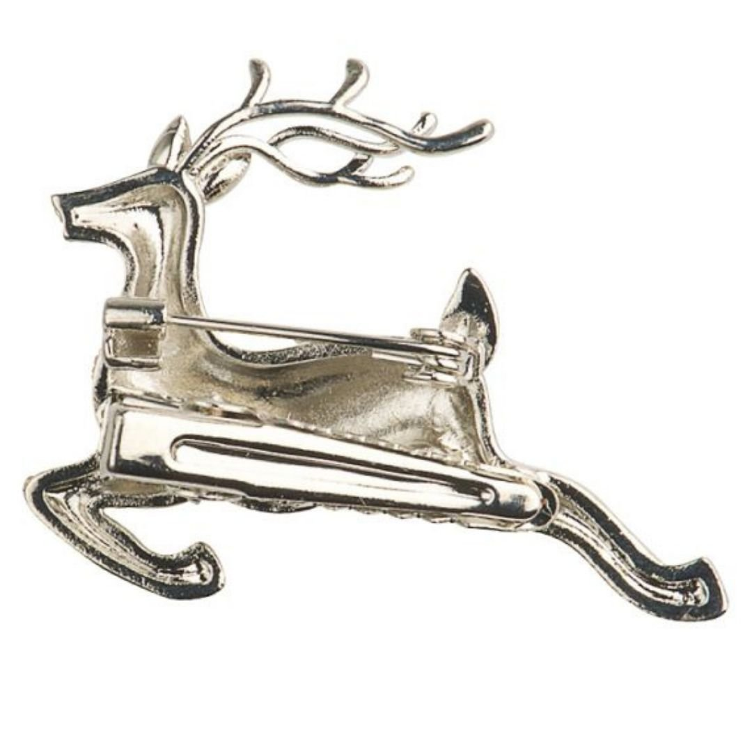 Rosie Fox Silver Crystal Stag - Bohemian Finds