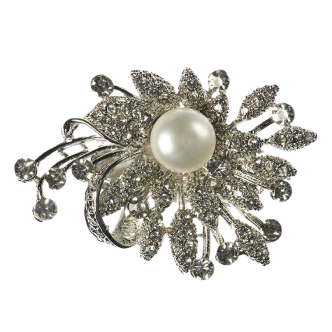 Rosie Fox Fresh Water Pearl Bouquet Hairclip and Brooch - Bohemian Finds