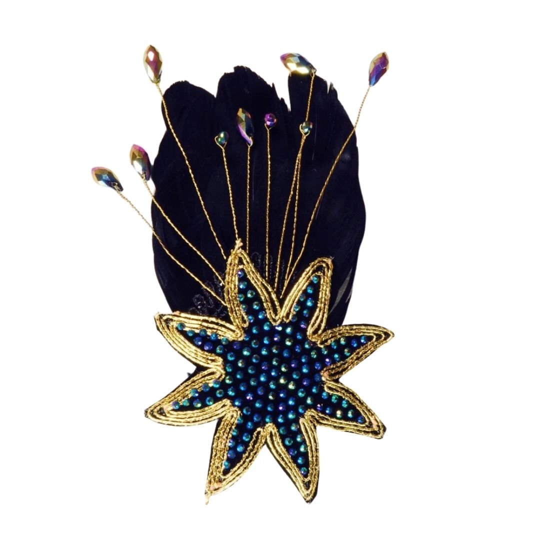 Rosie Fox Jet Star Clip - Bohemian Finds