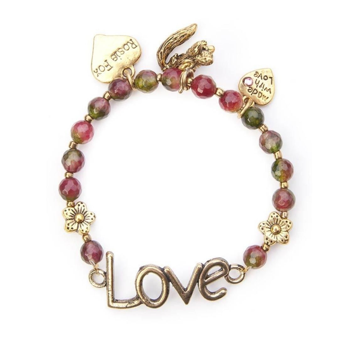 Rosie Fox Natural Tourmaline Love Bracelet - Bohemian Finds