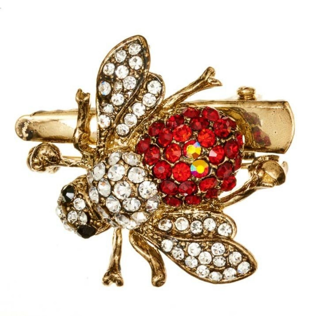 Rosie Fox Royal Bee Hairclip & Brooch - Bohemian Finds