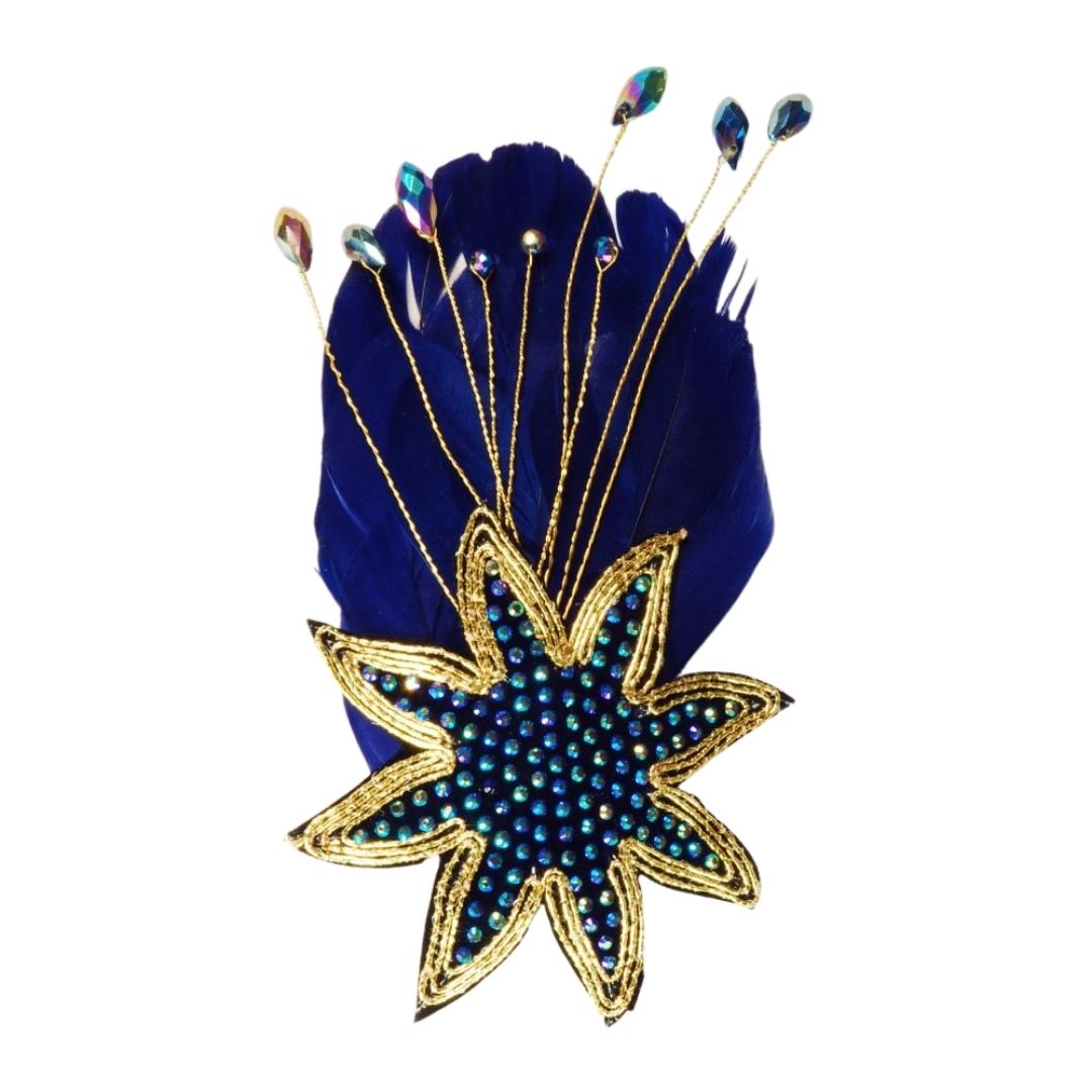 Rosie Fox Saphire Star Clip - Bohemian Finds