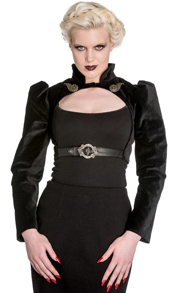Spin Doctor Lorena Bolero (Black) - Bohemian Finds