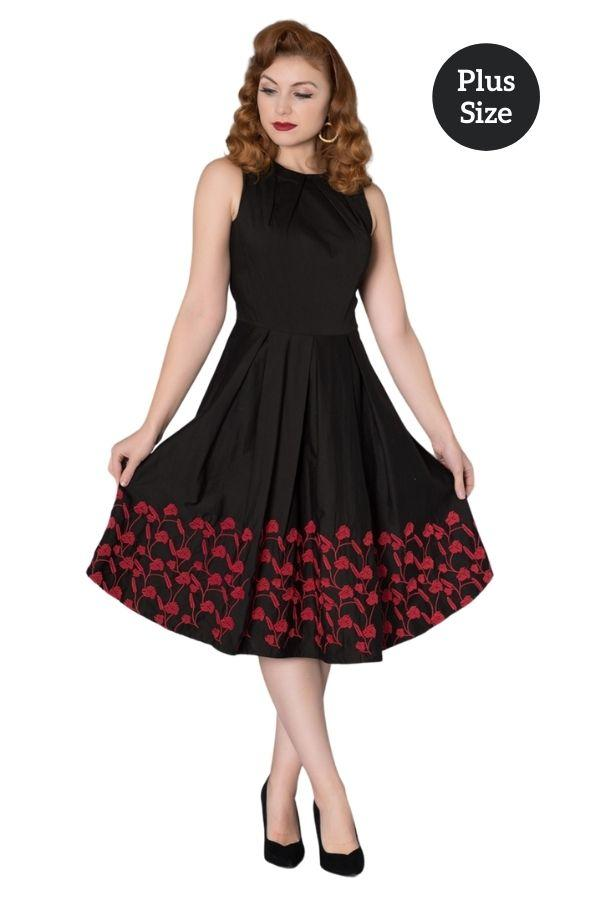 Timeless Kirsty 50s Swing Dress - Bohemian Finds
