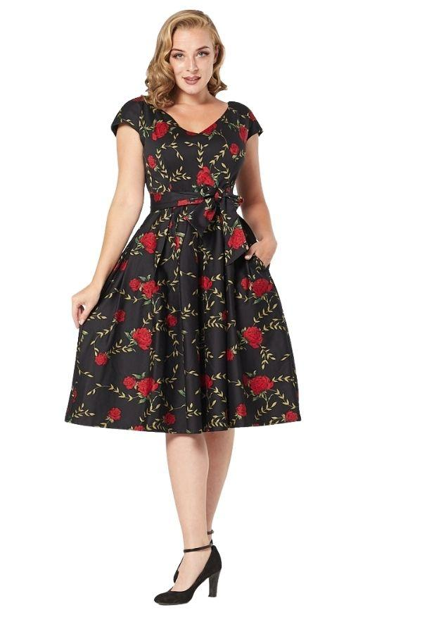 Timeless Stacey 50's Swing Dress - Bohemian Finds