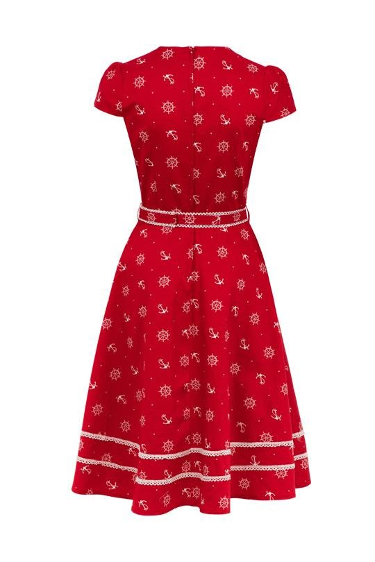 Voodoo Vixen Joni Dress (Red) - Bohemian Finds