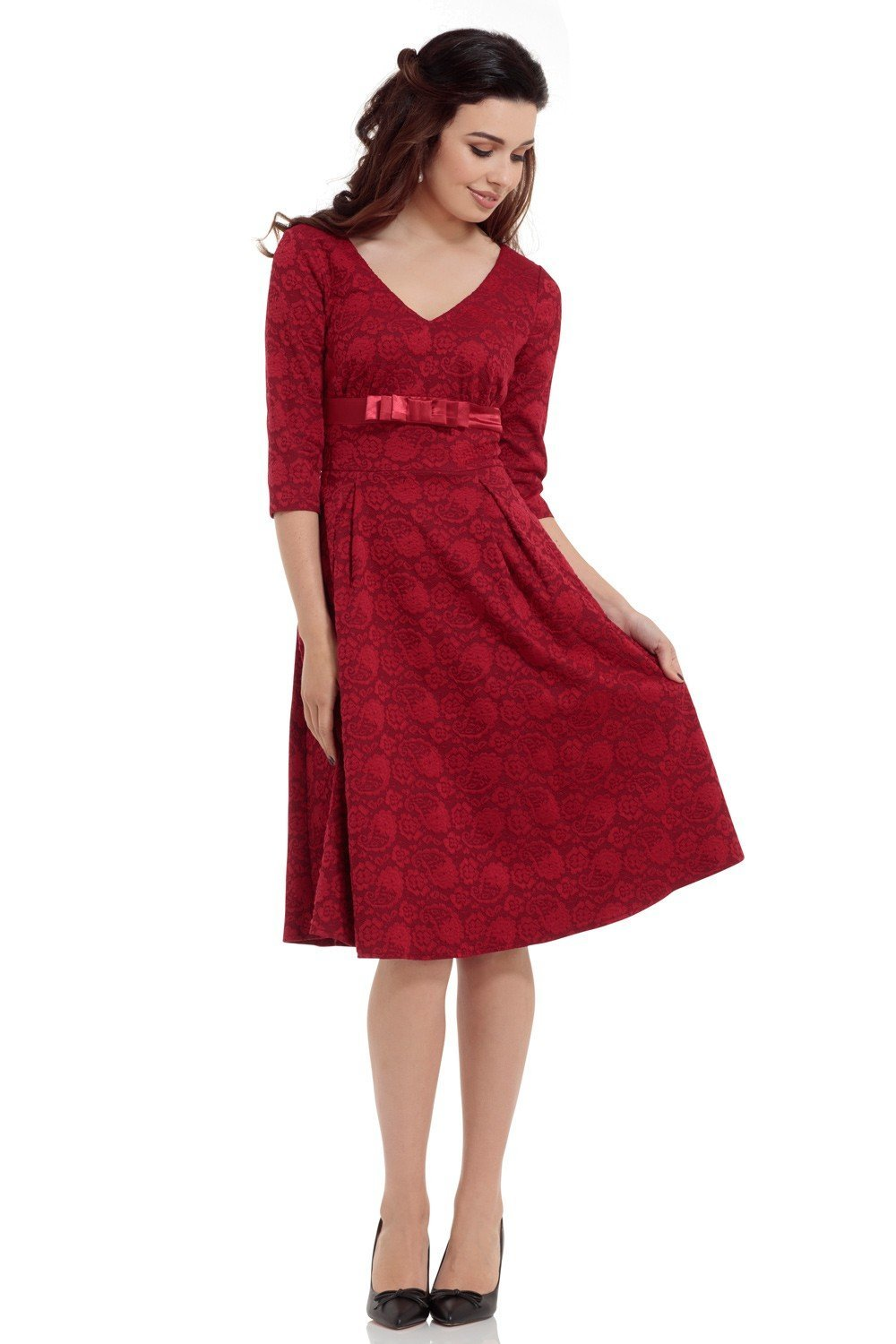 Voodoo Vixen Red Jane Dress - Bohemian Finds