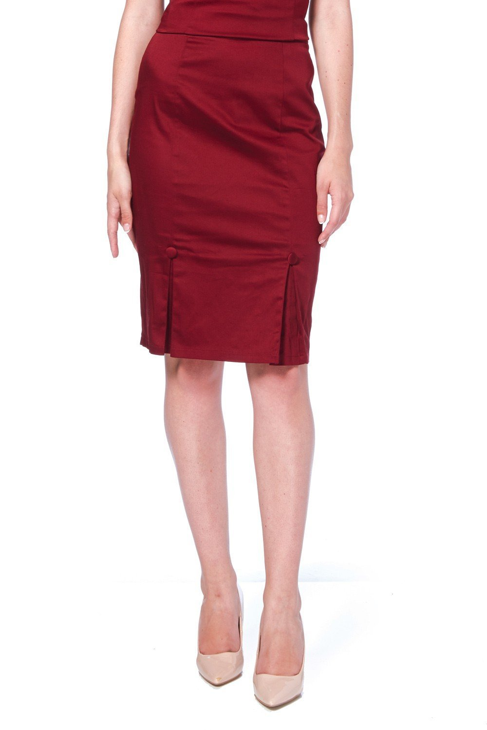 Voodoo Vixen Sandy Pencil Skirt - Bohemian Finds