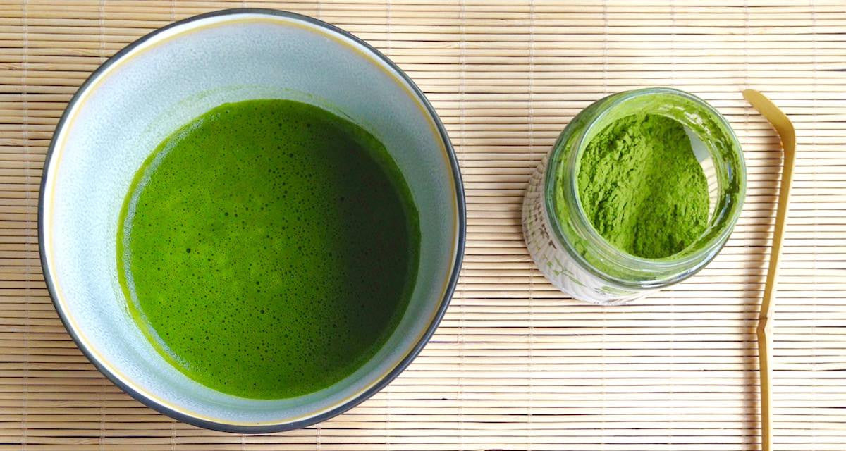 matcha for detoxing