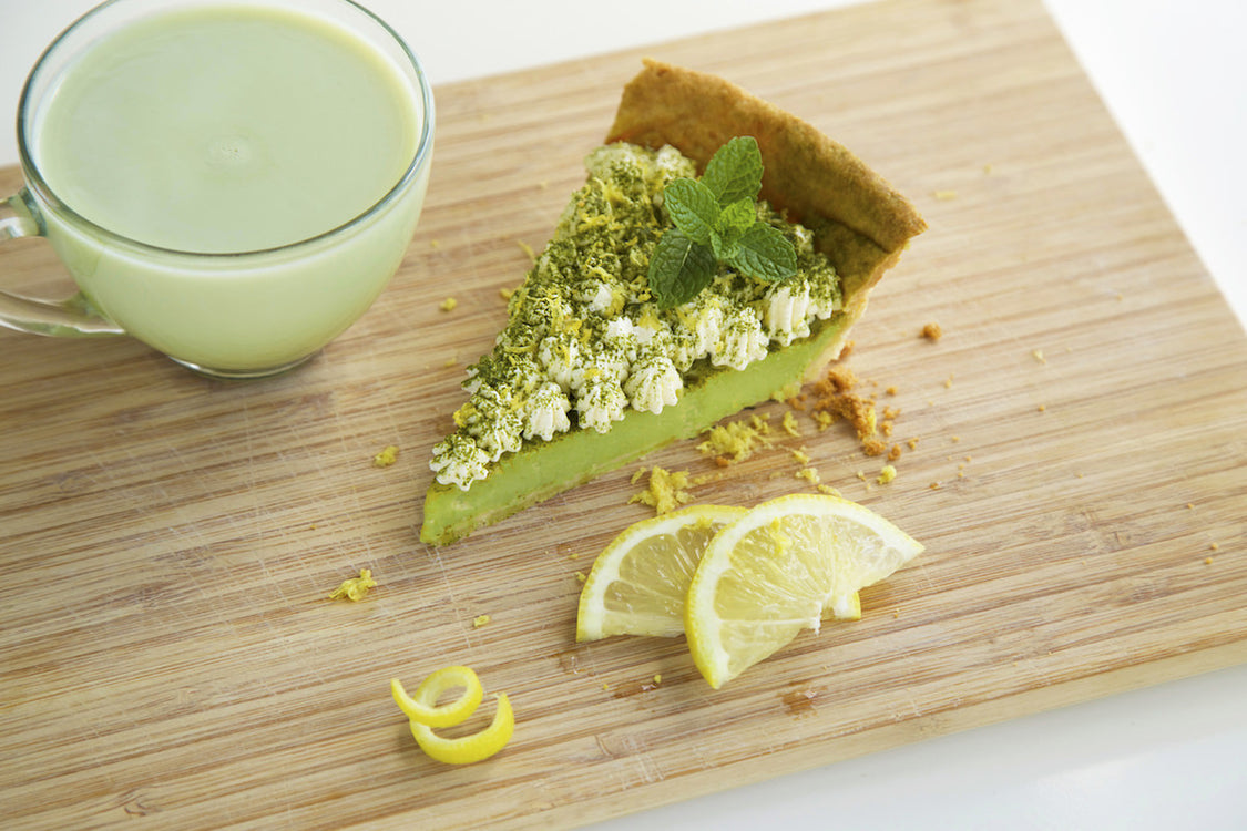 Matcha Lemon Tart