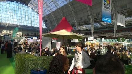 Day out at Natural & Organic Products Show 2014