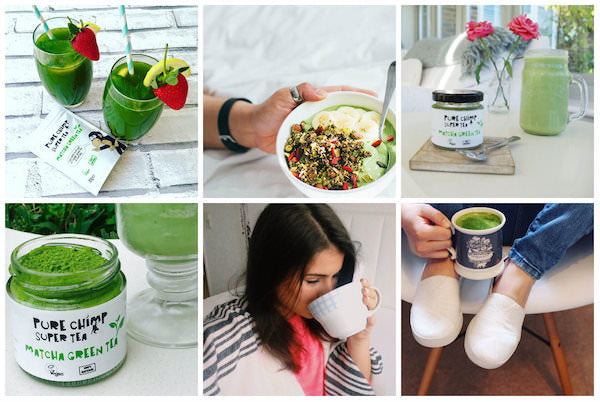 instagram feed matcha images