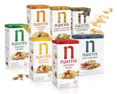 selection of nairns oat cakes