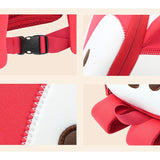 NOHOO Kids RED LITTLE FOXY (New) Waterproof Harness Travel Newborn Cute Kids Bag