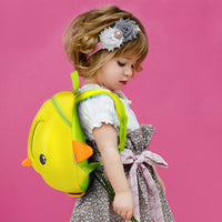 NOHOO Kid Tri-Duckie 3D Design School Bag Sekolah Bag Preschool Backpack Bags