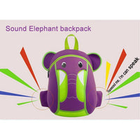 NOHOO Kid Elephant Trunk 3D Design School Bag Waterproof Preschool Backpack Bags