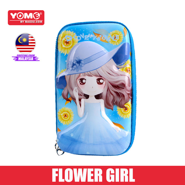 Yome Flower Girl Pencil Case