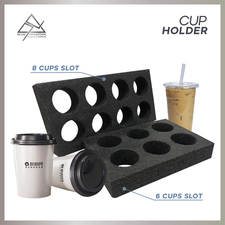 Food Delivery Bag Cup Holder (6's)