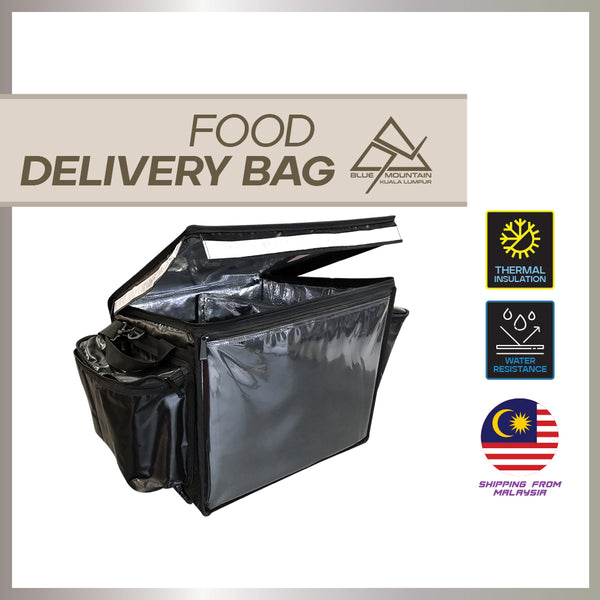 Blue Mountain 62L THERMAL INSULATED FOOD DELIVERY BAG (Custom size)