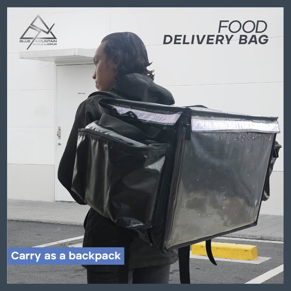 62L THERMAL INSULATED FOOD DELIVERY BAG (Custom size)