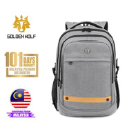 "Golden Wolf Lectro Backpack (15.6"" Laptop)"