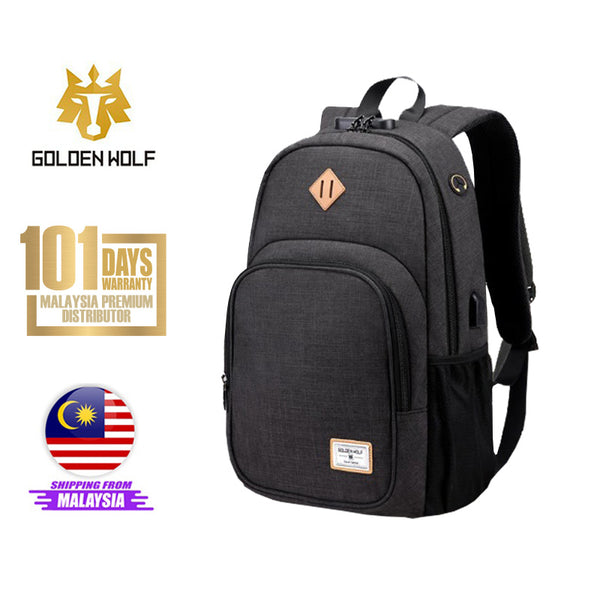 "Golden Wolf Autumn Backpack  (13"" Laptop)"