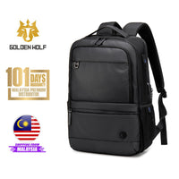 "Golden Wolf Phase Backpack (15.6"" Laptop)"