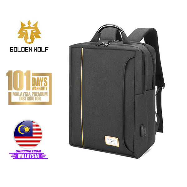 "Golden Wolf Coupe Backpack (15.6"" Laptop)"