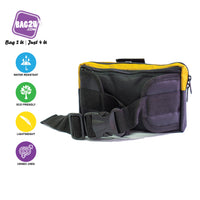 Blue Mountain 3L Waist Pouch Signature Air Ventilation YKK Zipper Out door  Ready Stock Malaysia