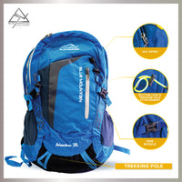 Blue Mountain Hiking Backpack 38L