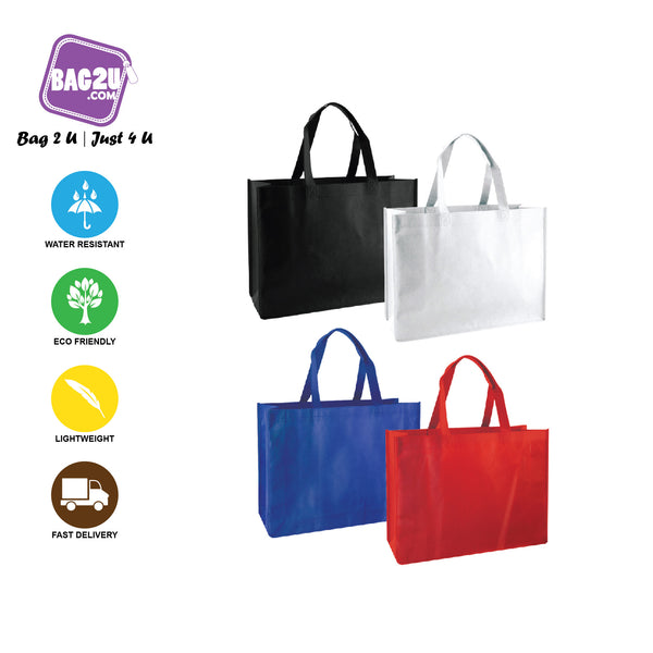 A3 90gsm Size Eco Friendly Reusable Go Green Shopping Bag Handbag Woman Non-Woven Bag (READY STOCK AVAILABLE!!!)