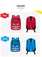 NOHOO Kid Happy Monster Design Children Boy Travel School Bag Beg Sekolah Bag A4
