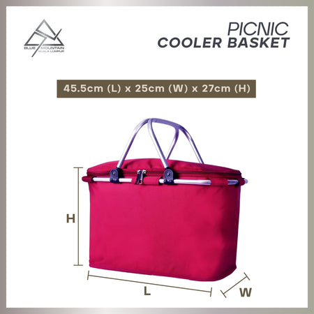 Blue Mountain Cooler Basket