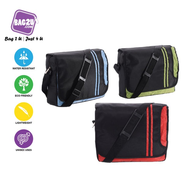 Bag2u【HOT】 Sling Bag Sling Pouch Travel Pouch Lightweight Fashion Colour