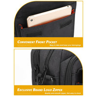 "Golden Wolf Glaive Crossbody Sling (7.9"" Tablet)"