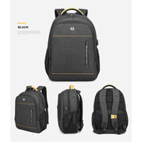 "Golden Wolf Viper Backpack (15.6"" Laptop)"