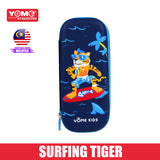 Yome Surfing Tiger Pencil Case
