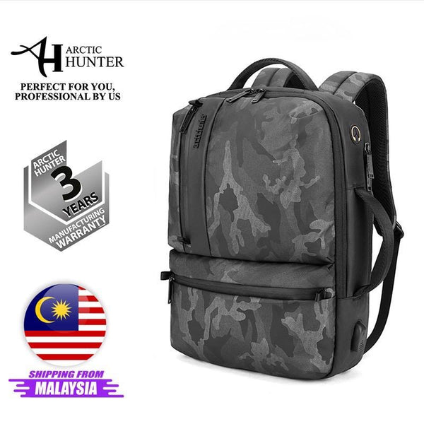 "Arctic Hunter i-Veteran Backpack ( 15.6"" Laptop)"
